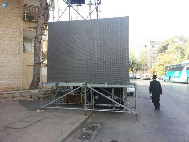 תמונות מההכנות לעצרת  הגרע יוסף- חדשות 24 (10)