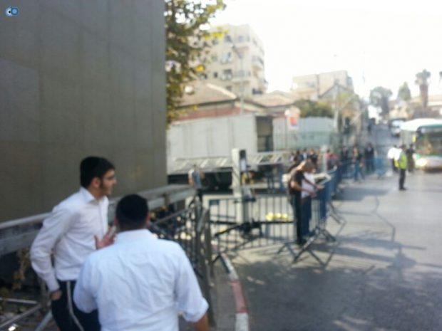 תמונות מההכנות לעצרת  הגרע יוסף- חדשות 24 (4)
