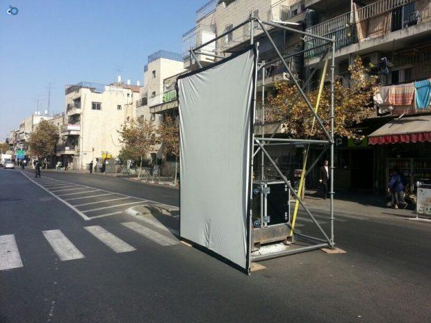 תמונות מההכנות לעצרת  הגרע יוסף- חדשות 24 (5)