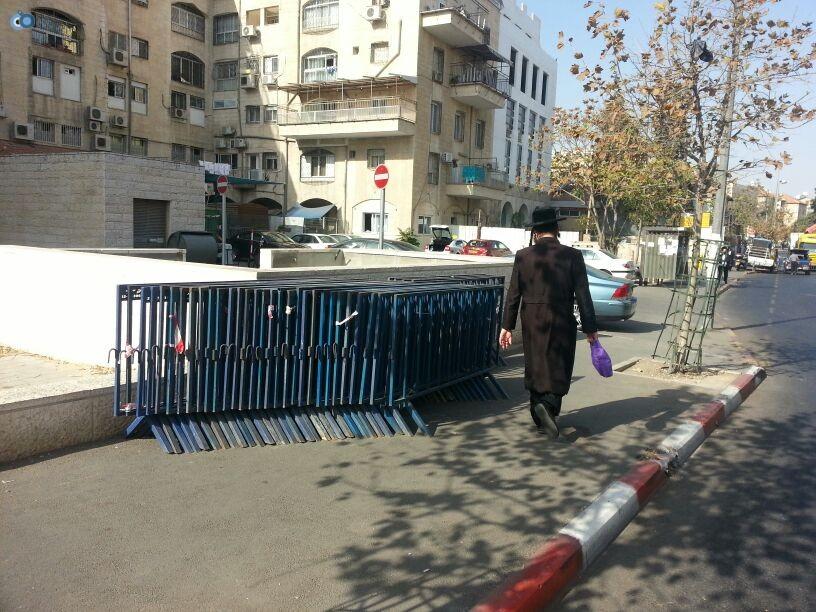 תמונות מההכנות לעצרת  הגרע יוסף- חדשות 24 (6)