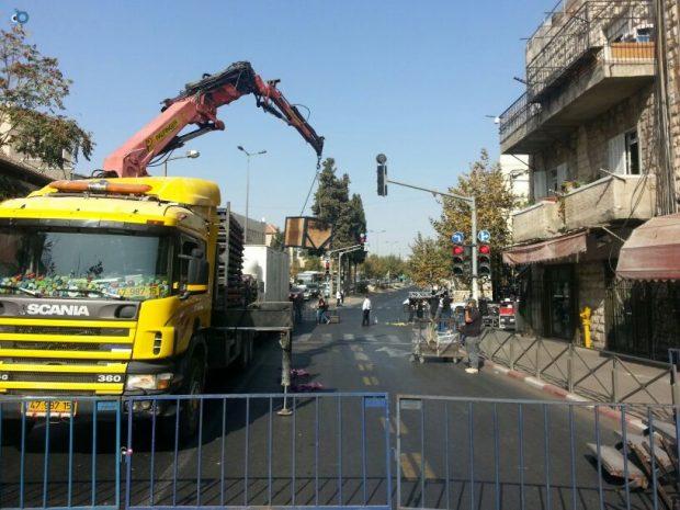 תמונות מההכנות לעצרת  הגרע יוסף- חדשות 24 (7)
