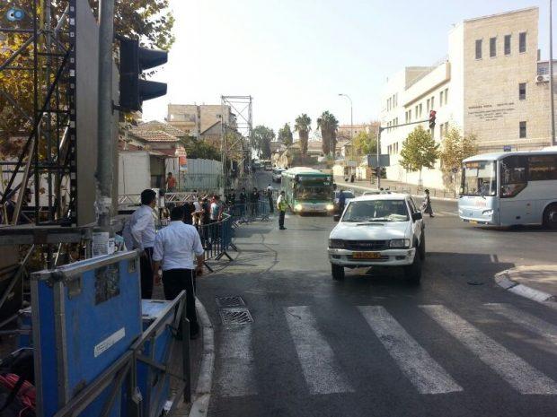 תמונות מההכנות לעצרת  הגרע יוסף- חדשות 24 (8)