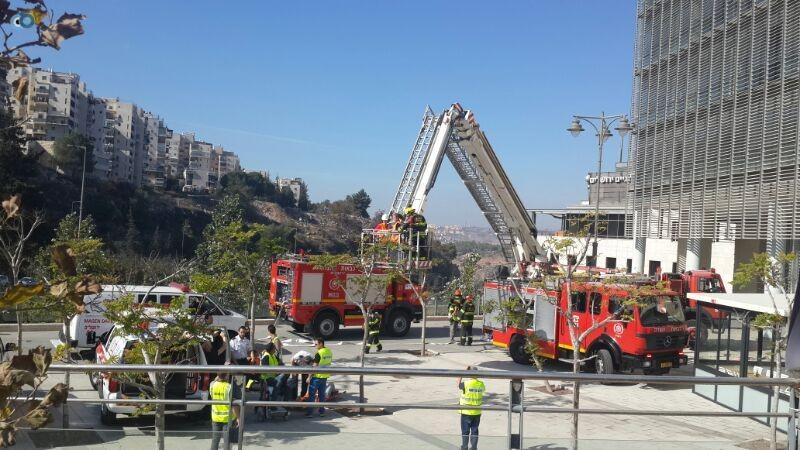 תרגיל חילוץ ירושלים צילם מנחם לב  (20)