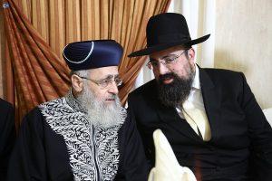 """יוסף ה' עליכם - יוסף אליטוב עם הראשל""""צ רבי יצחק יוסף"""