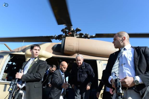ביקור ראש הממשלה בנימין נתניהו בשדרות, חנוכת תחנת הרכבת בעיר. צילום - קובי גדעון לע''מ-2- 24.12.12