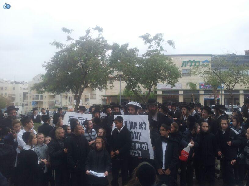 חרדים הפגנה קברים צילם יוסי פרידמן 24 (1)