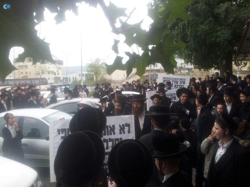 חרדים הפגנה קברים צילם יוסי פרידמן 24 (11)