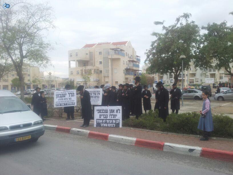 חרדים הפגנה קברים צילם יוסי פרידמן 24 (27)