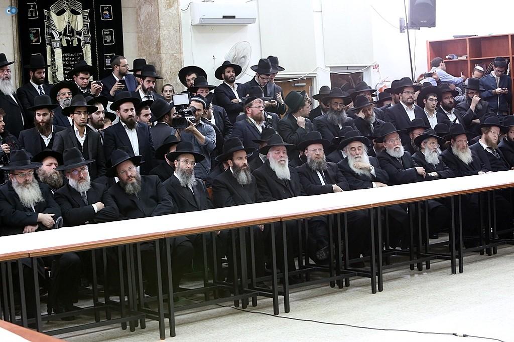 כינוס מועצת גדולי ישראל צילום קובין אלי