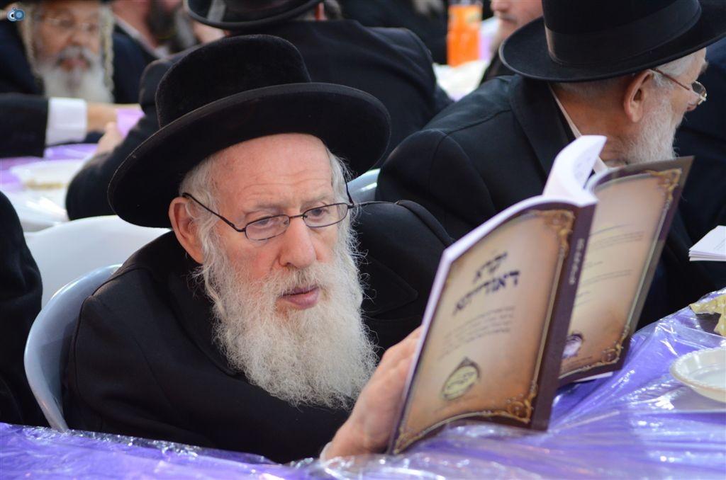 מעמד יקרא דאורייתא מבצר התורה קרית צאנז ירושלים (1)
