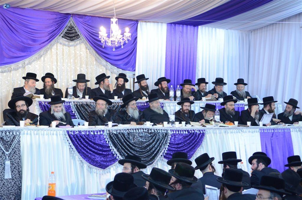 מעמד יקרא דאורייתא מבצר התורה קרית צאנז ירושלים (11)