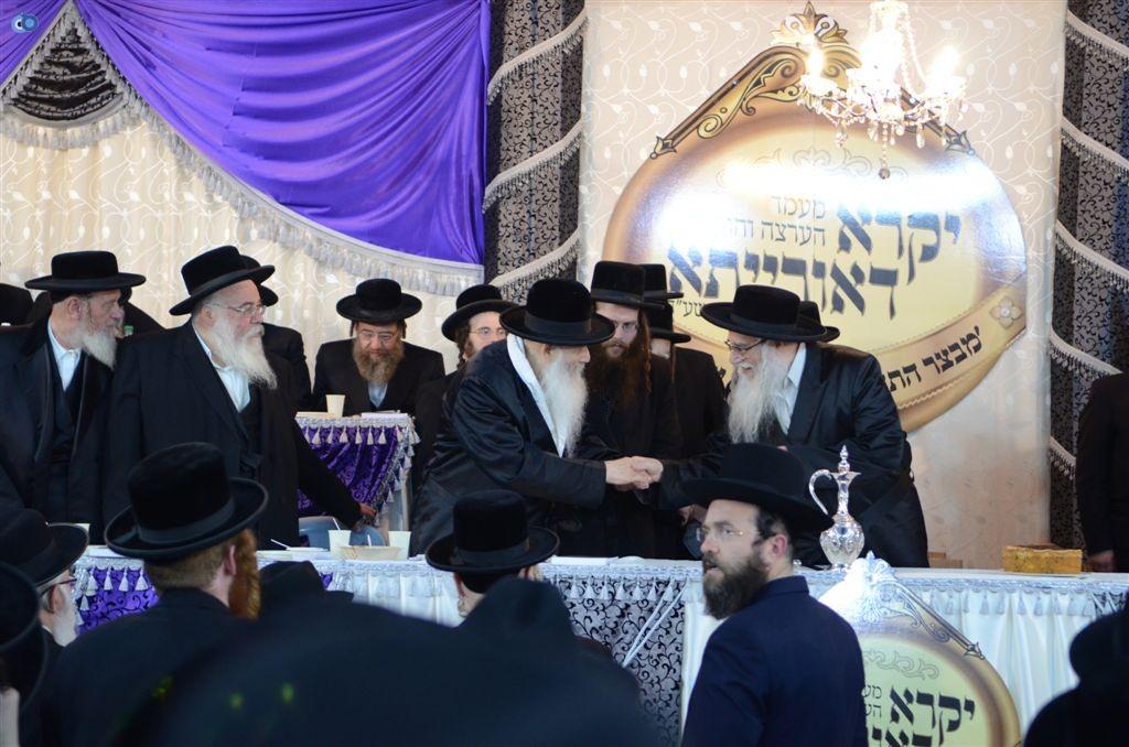 מעמד יקרא דאורייתא מבצר התורה קרית צאנז ירושלים (12)