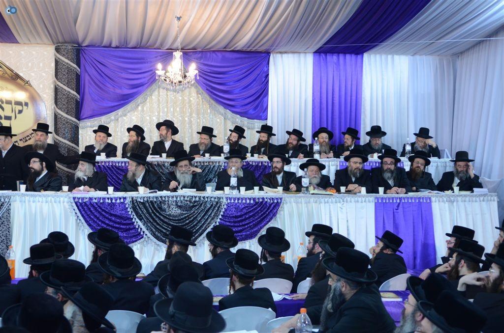 מעמד יקרא דאורייתא מבצר התורה קרית צאנז ירושלים (15)