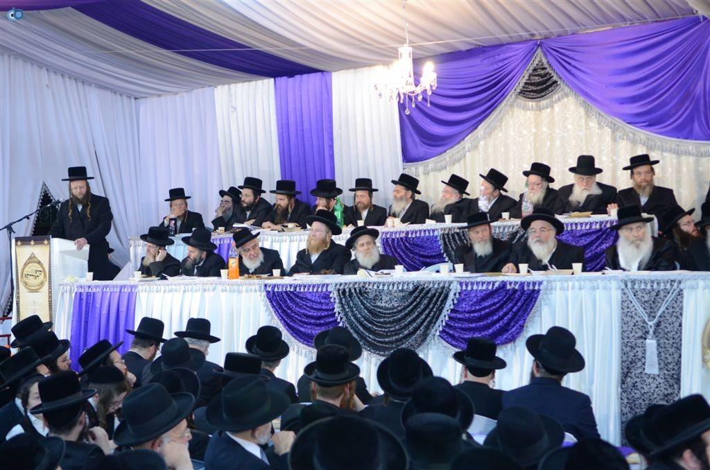 מעמד יקרא דאורייתא מבצר התורה קרית צאנז ירושלים (16)