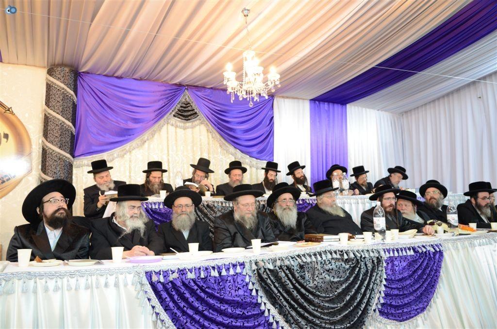 מעמד יקרא דאורייתא מבצר התורה קרית צאנז ירושלים (8)