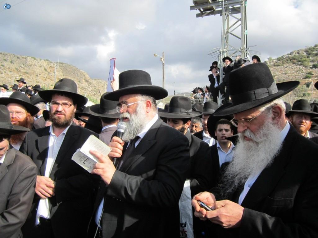 עצרת בראשות הרב אויערבאך (25)