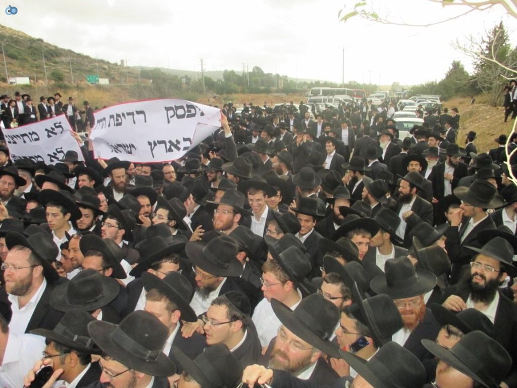 עצרת בראשות הרב אויערבאך (42)