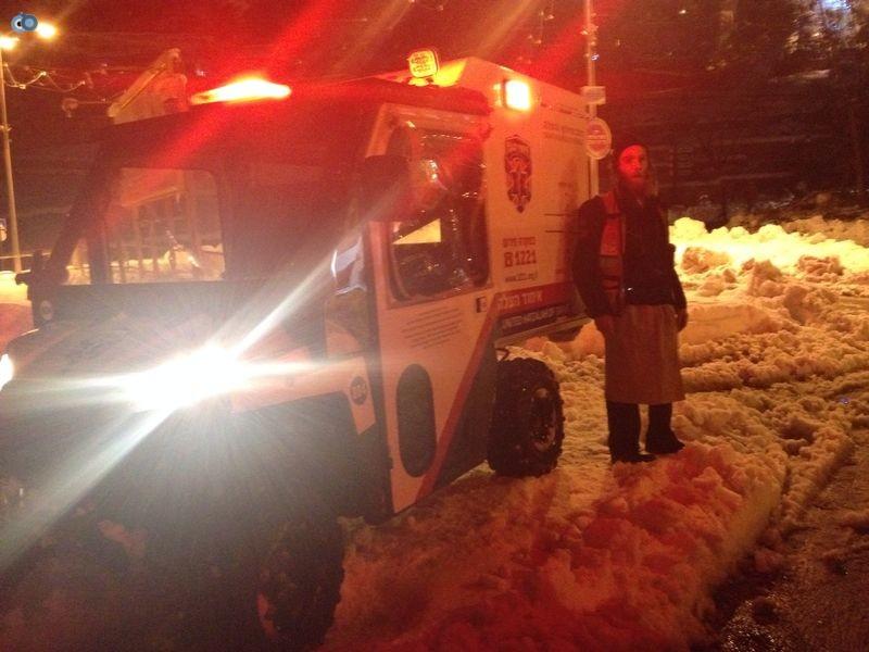 צפת   הצלה שלג צילם שמחה גולדברג 24  (20)
