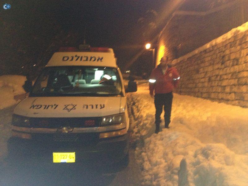 צפת   הצלה שלג צילם שמחה גולדברג 24  (4)