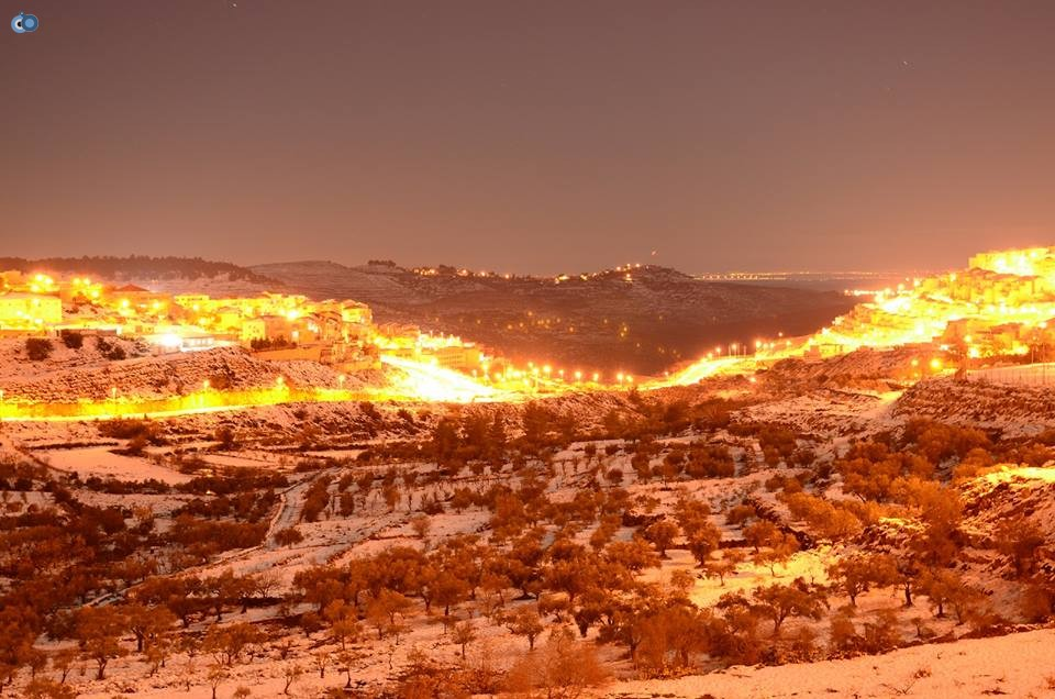 שלג   ביתר  צילם  יצחק  בצון (9)