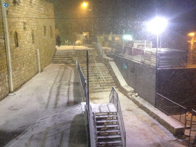 שלג   מירון  רשב''י (2)