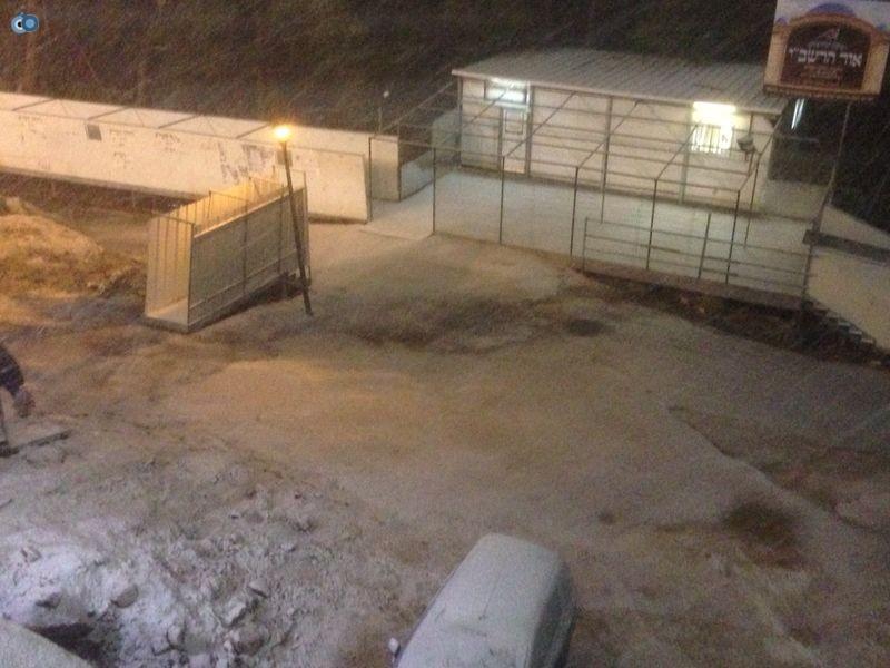 שלג   מירון  רשב''י (7)