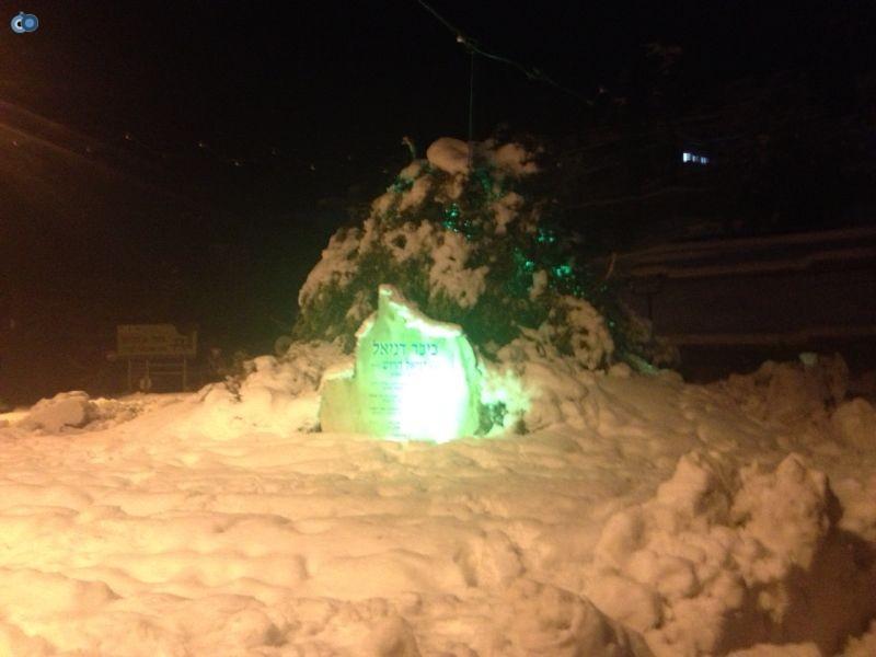שלג   צפת  נגמ''שים   צילם  יחי רוש  24 (3)