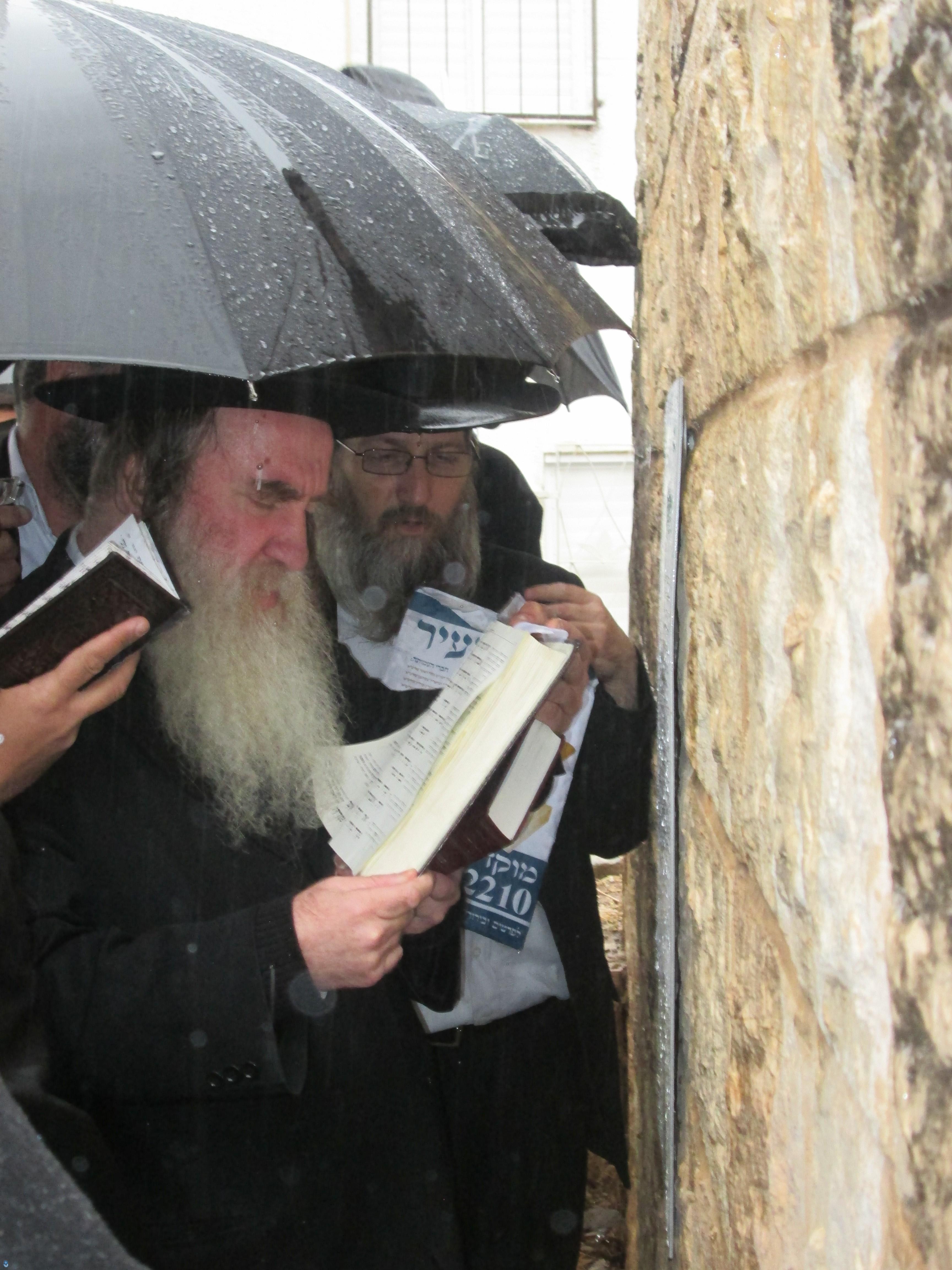 הרב מרדכי גרוס בתפילה (4)