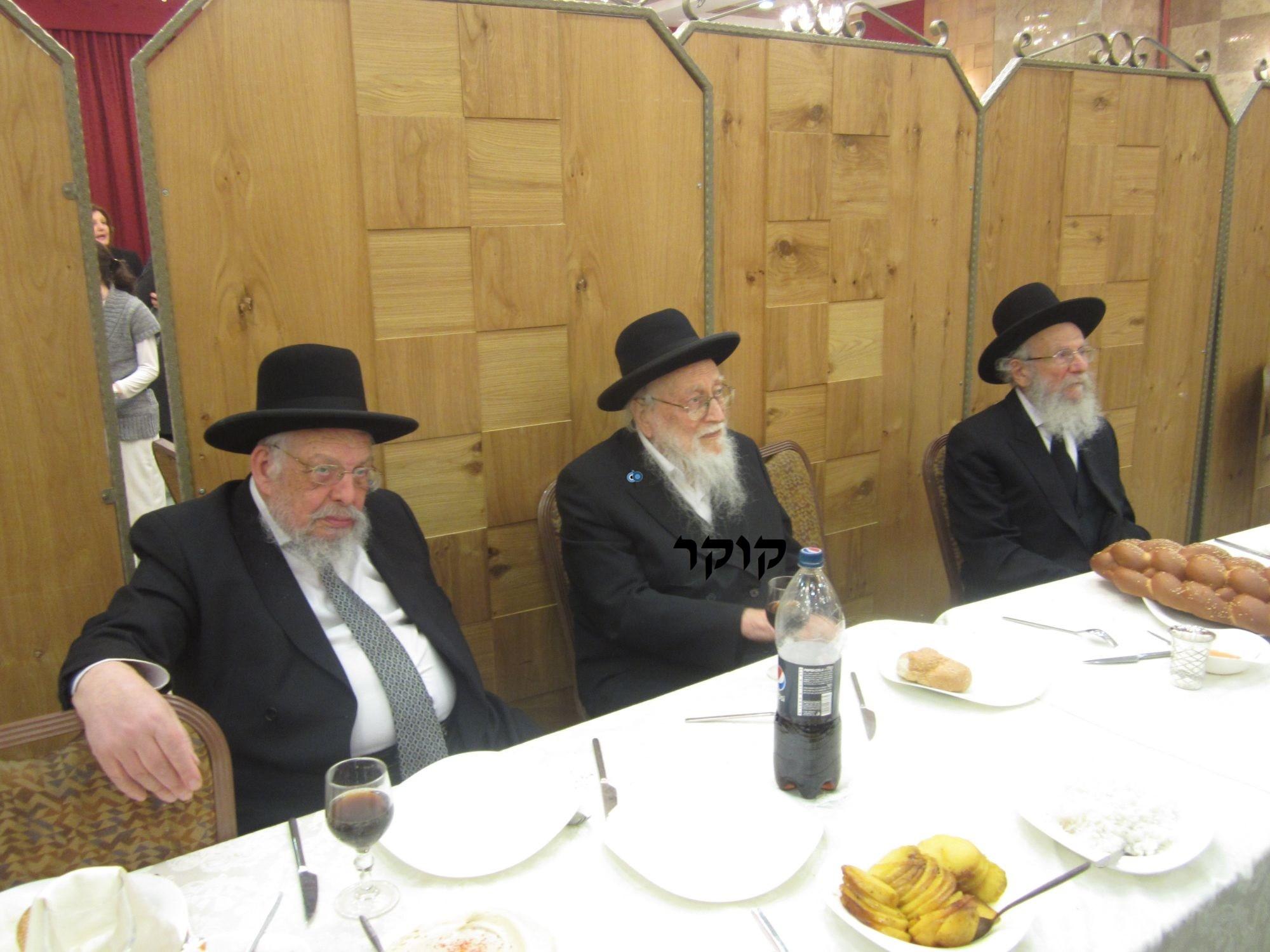 אדמו''ר מ טשערנוביל מטשערנוביל, חתונה, הרב יעקב אדלשטיין אדלשטין (15)
