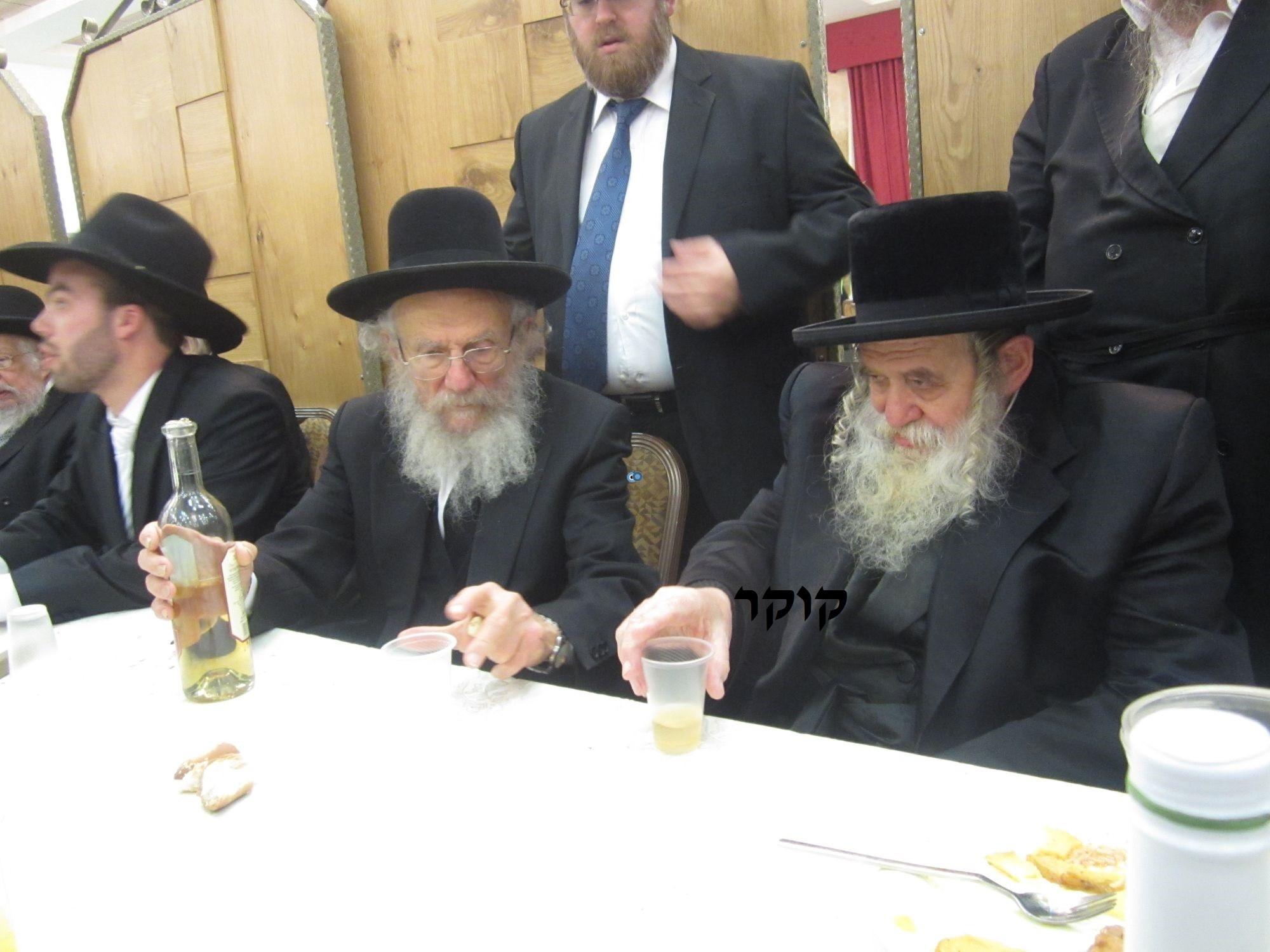 אדמו''ר מ טשערנוביל מטשערנוביל, חתונה, הרב יעקב אדלשטיין אדלשטין (16)