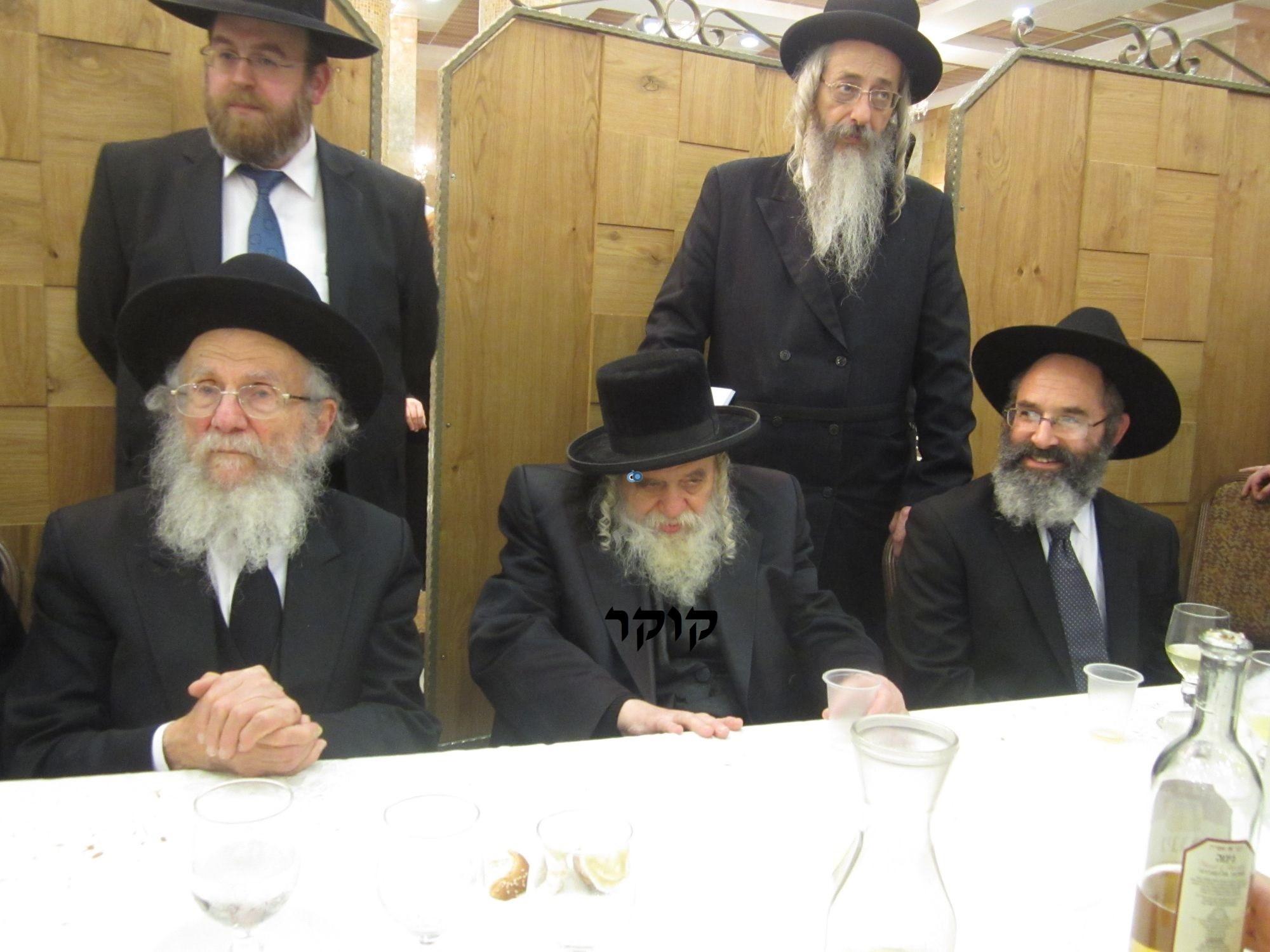 אדמו''ר מ טשערנוביל מטשערנוביל, חתונה, הרב יעקב אדלשטיין אדלשטין (3)