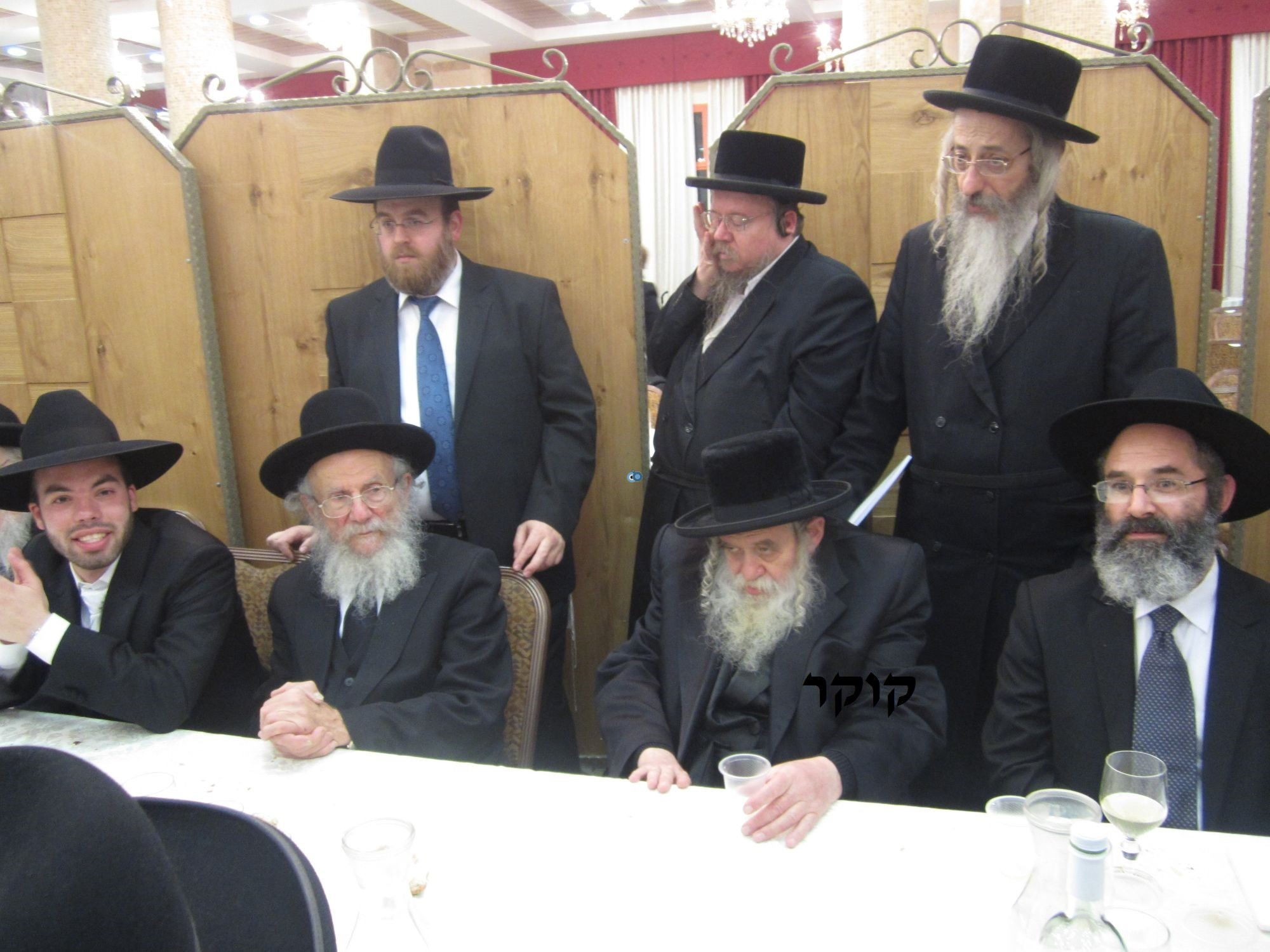 אדמו''ר מ טשערנוביל מטשערנוביל, חתונה, הרב יעקב אדלשטיין אדלשטין (4)
