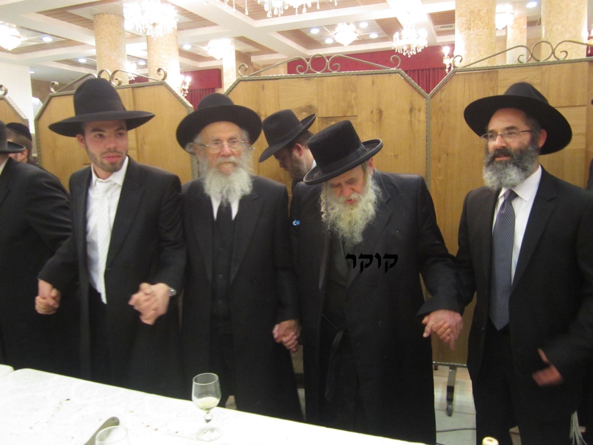 אדמו''ר מ טשערנוביל מטשערנוביל, חתונה, הרב יעקב אדלשטיין אדלשטין (8)
