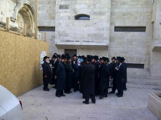 יום עיון חרדים נדבורנא רובע היהודי צילם 24 (15)