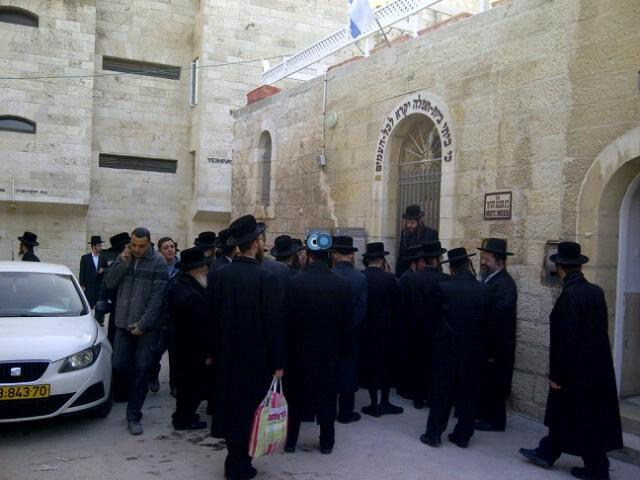 יום עיון חרדים נדבורנא רובע היהודי צילם 24 (18)