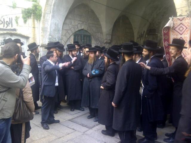 יום עיון חרדים נדבורנא רובע היהודי צילם 24 (2)