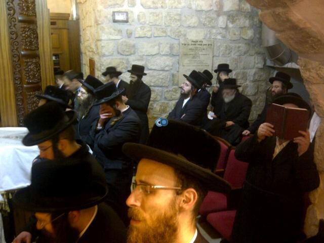 יום עיון חרדים נדבורנא רובע היהודי צילם 24 (24)