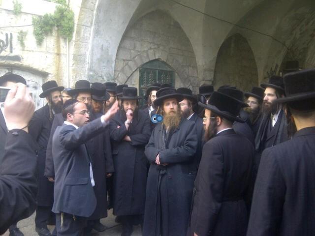 יום עיון חרדים נדבורנא רובע היהודי צילם 24 (46)