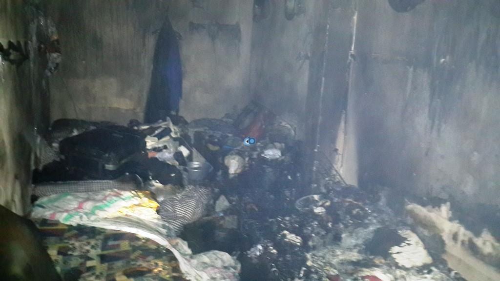 שריפה ישיבה  רחמסטריווקא  צילם דובר כבאות והצלה אודי גל (6)