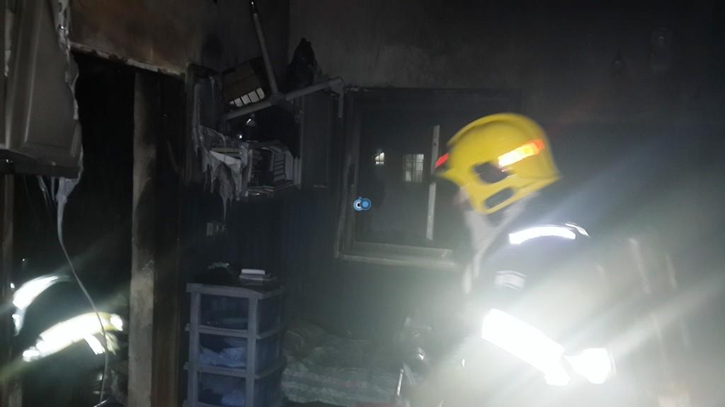 שריפה ישיבה  רחמסטריווקא  צילם דובר כבאות והצלה אודי גל (8)