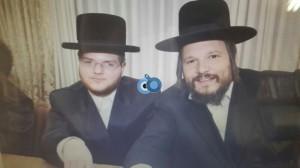 רובינשטין עם רובינשטין  - ראש העיר בחתונת אחיו של יהודה רובינשטין