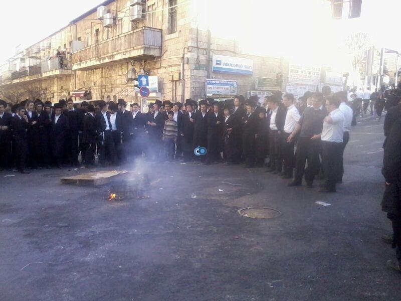 הפגנה כיכר השבת הפגנה שקטה צילם שמואל בן ישי 24 (2)