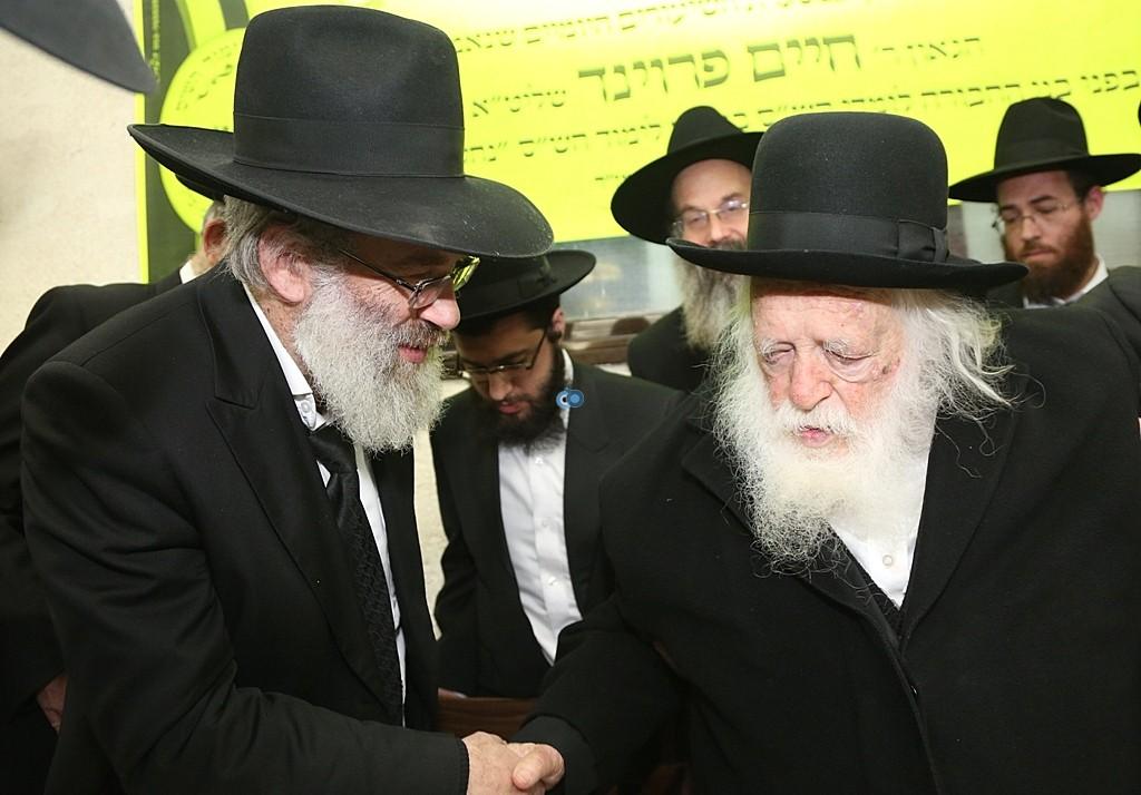 מעמד סיום השס בהשתתפות גדולי ישראל - צלום אלי קובין (13)