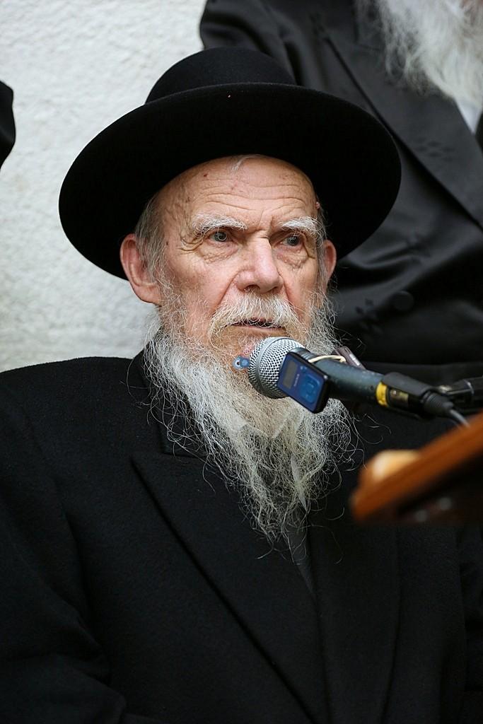 מעמד סיום השס בהשתתפות גדולי ישראל - צלום אלי קובין (3)