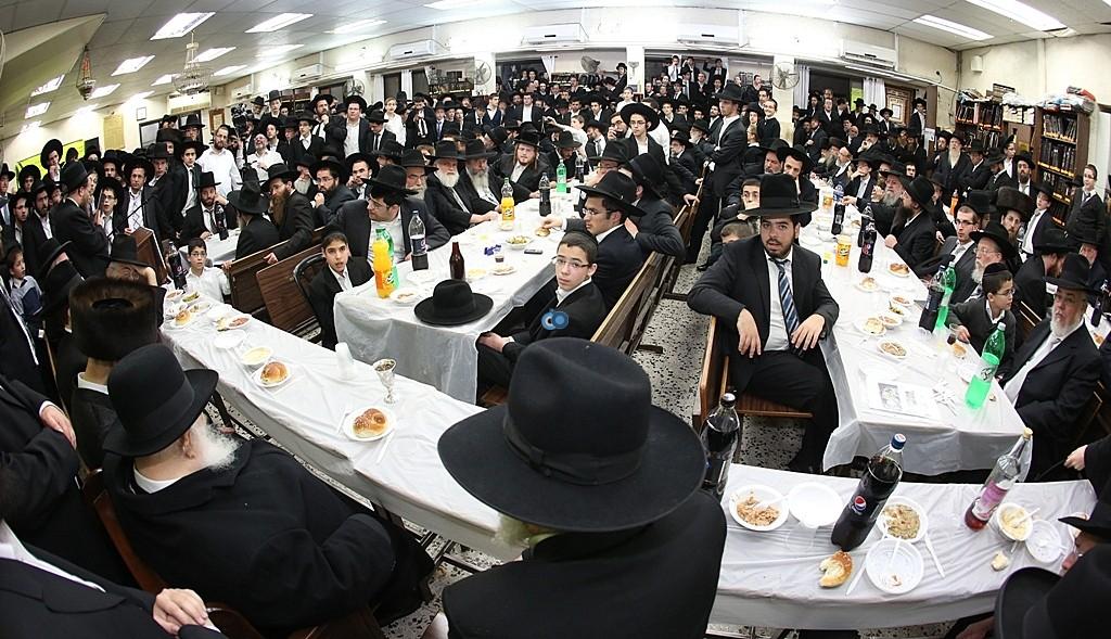 מעמד סיום השס בהשתתפות גדולי ישראל - צלום אלי קובין (9)