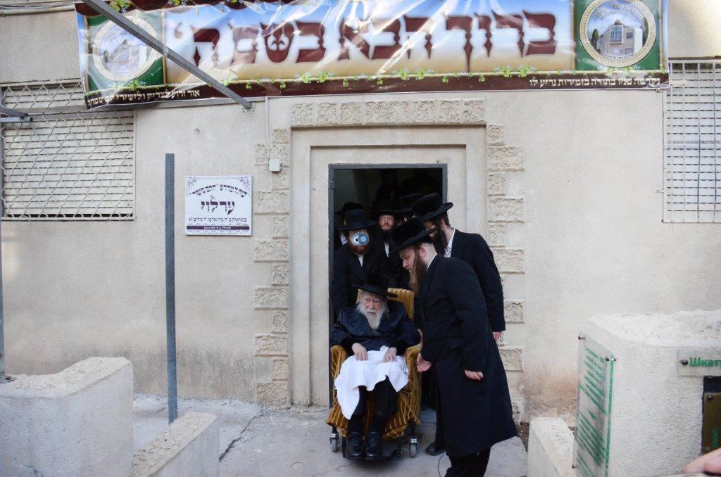 אדמו''ר מ ערלוי מערלוי בביקור היסטורי חיפה צילם אהרן ברוך ליבוביץ (11)