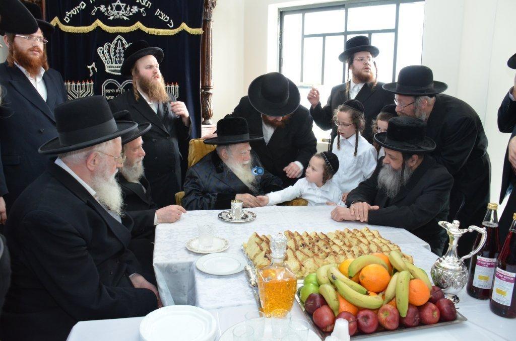 אדמו''ר מ ערלוי מערלוי בביקור היסטורי חיפה צילם אהרן ברוך ליבוביץ (13)