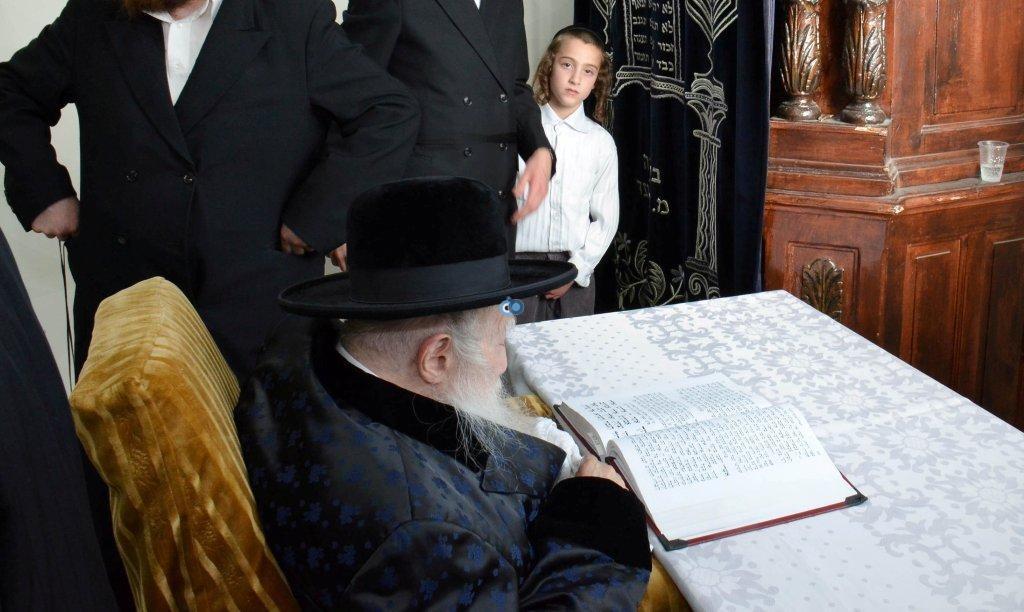 אדמו''ר מ ערלוי מערלוי בביקור היסטורי חיפה צילם אהרן ברוך ליבוביץ (9)