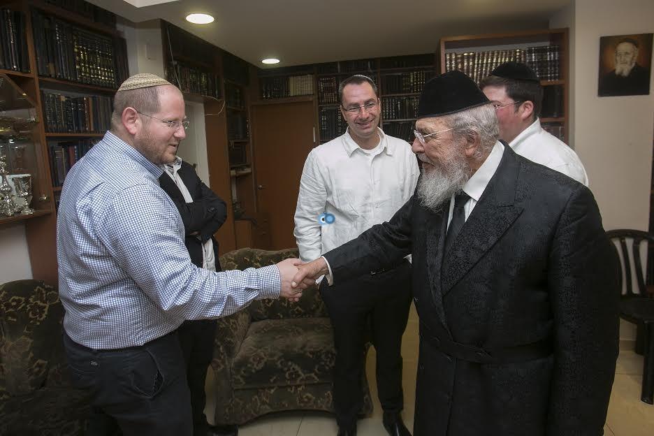 ראש ישיבת עטרת ישראל הגרב''מ אזרחי 3 - ביכלר