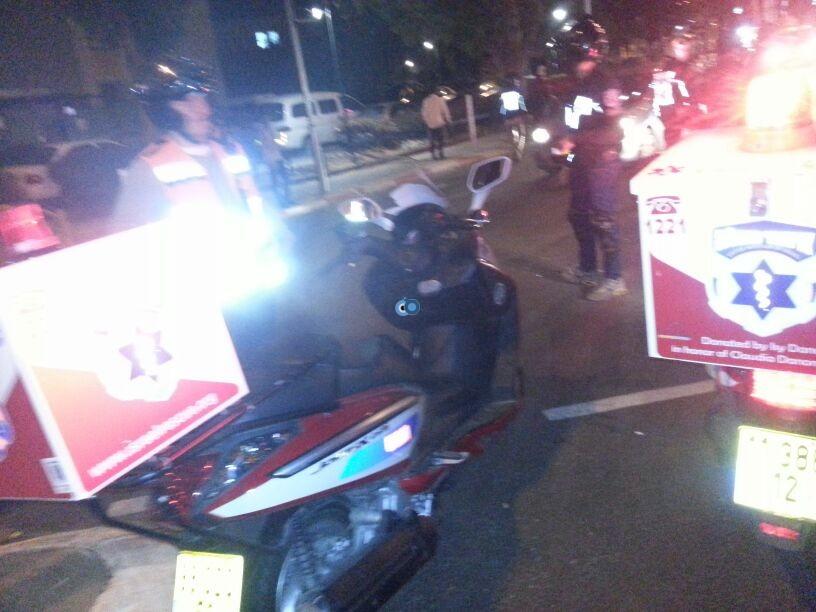 תאונה רכב אופנוע צילום יהודה רחמים - חדשות 24 (3)